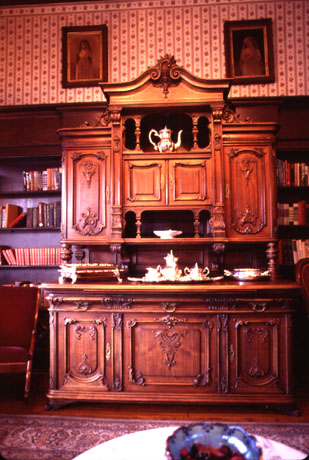 Photo of Antique Cabinet in Old Durango Hotel